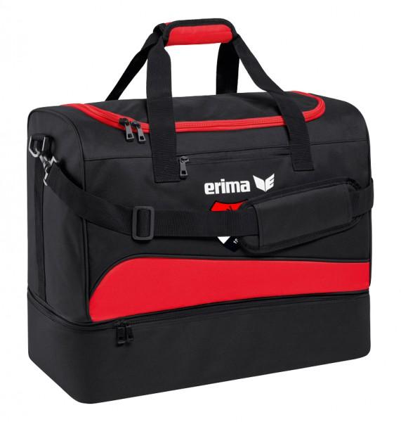 ERIMA Club 1900 2.0 Sporttasche mit Bodenfach - schwarz/rot